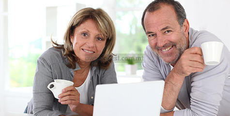 selling your property middle aged couple